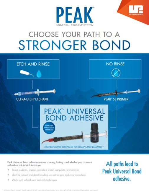 Peak™ Universal Bond - Brochure