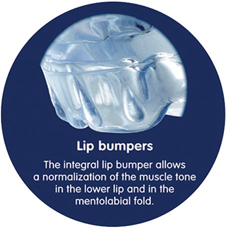 Lip bumpers